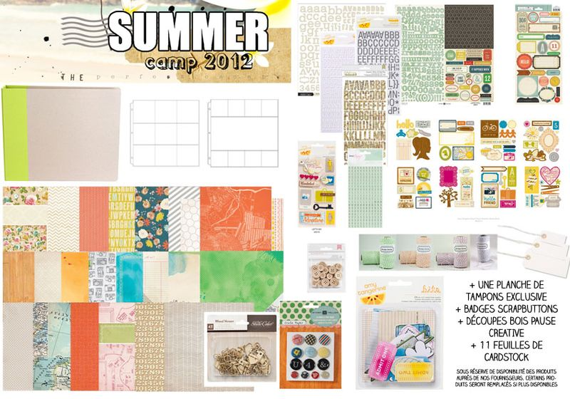 SUMMER CAMP 2012 KIT