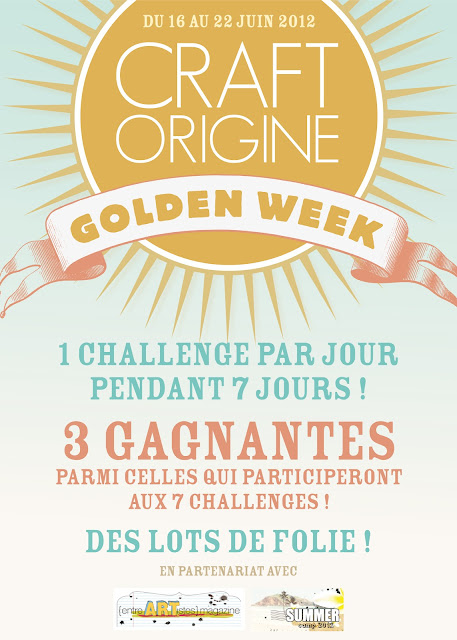 CRAFT ORIGINE GOLDEN WEEK FLYER