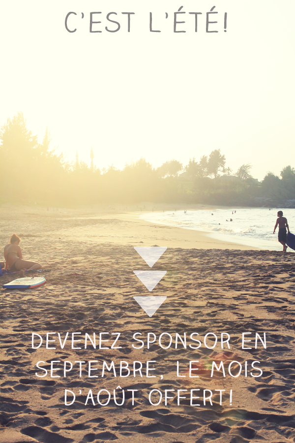 Sponsor sale french