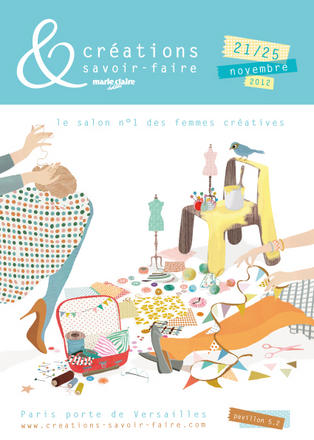 Le salon n 1 des loisirs cr atifs du 21 au 25 novembre for Salon art creatif paris